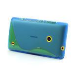 Gélové S-line puzdro na Nokia Lumia 520- modré - 3/6
