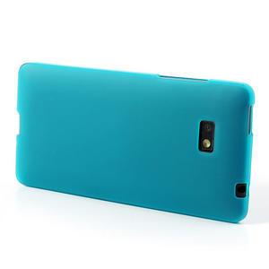 Gélové matné puzdro pre HTC Desire 600- svetlo modré - 3
