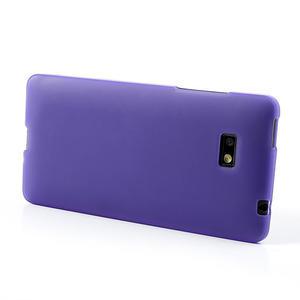Gélové matné puzdro pre HTC Desire 600- fialové - 3