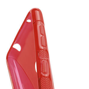 Gélové S-line puzdro pre Nokia Lumia 625- červené - 3