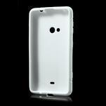 Gélové S-line puzdro pre Nokia Lumia 625- biele - 3/7