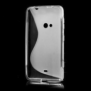 Gélové S-line puzdro pre Nokia Lumia 625- transparentný - 3