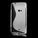 Gélové S-line puzdro pre Nokia Lumia 625- transparentný - 3/7