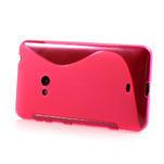 Gélové S-line puzdro pre Nokia Lumia 625- růžové - 3/6