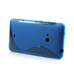 Gélové S-line puzdro pre Nokia Lumia 625- modré - 3