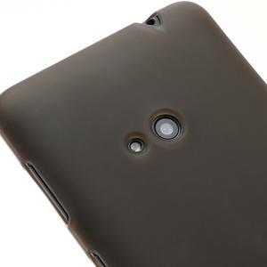 Gélové matné puzdro pre Nokia Lumia 625- sivé - 3