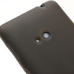 Gélové matné puzdro pre Nokia Lumia 625- šedé - 3/5