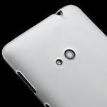 Gélové matné puzdro pre Nokia Lumia 625- biele - 3/5