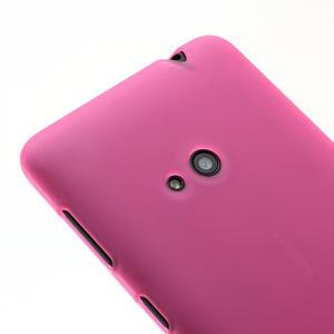 Gélové matné puzdro pre Nokia Lumia 625- ružové - 3