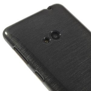 Gélové kartáčové puzdro na Nokia Lumia 625 - šedé - 3