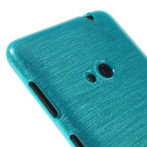 Gélové kartáčové puzdro na Nokia Lumia 625 - modré - 3
