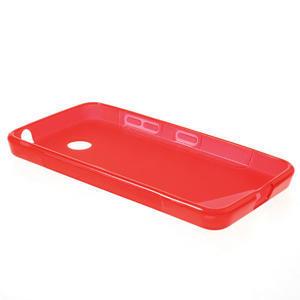 Gélové S-line puzdro na Nokia Lumia 630- červené - 3
