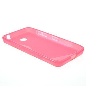 Gélové S-line puzdro na Nokia Lumia 630- ružové - 3