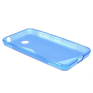 Gélové S-line puzdro na Nokia Lumia 630- modré - 3