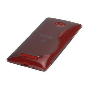 Gélové S-line puzdro pre HTC Windows phone 8X- šedé - 3