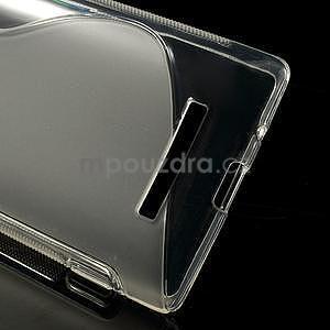 Gélové S-line puzdro pre HTC Windows phone 8X- transparentný - 3