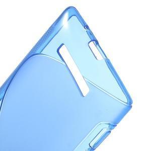 Gélové S-line puzdro pre HTC Windows phone 8X- modré - 3
