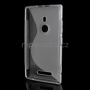 Gélové S-liné puzdro pre Nokia Lumia 925- transparentný - 3