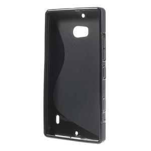 Gélové S-line puzdro na Nokia Lumia 930- čierné - 3