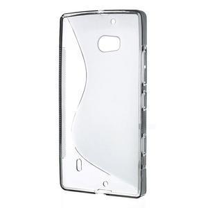 Gélové S-line puzdro na Nokia Lumia 930- sivé - 3