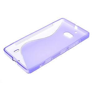Gélové S-line puzdro na Nokia Lumia 930- fialové - 3