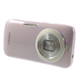 Gélové Ultraslim puzdro na Samsung Galaxy K Zoom- fialové - 3