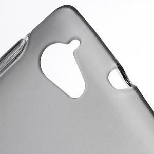 Gélové S-line puzdro na Sony Xperia L C2105- šedé - 3
