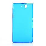 Gélové puzdro na Sony Xperia Z L36i C6603- modré - 3/7