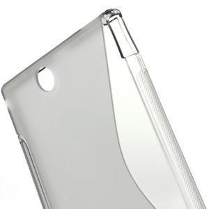 Gelove S-line pouzdro na Sony Xperia Z ultra- šedé - 3