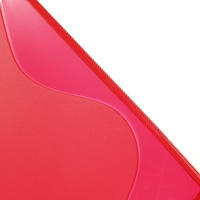 Gélové S-line puzdro pre Sony Xperia Z ultra- červené - 3/4