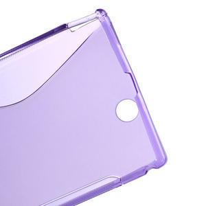 Gélové S-line puzdro pre Sony Xperia Z ultra- fialové - 3