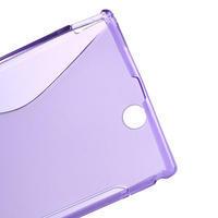 Gélové S-line puzdro pre Sony Xperia Z ultra- fialové - 3/5