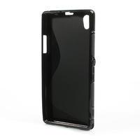 Gelové S-line pouzdro na Sony Xperia Z1 C6903 L39- černé - 3/5