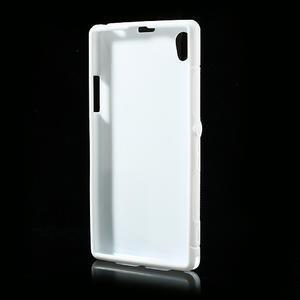 Gelové S-line pouzdro na Sony Xperia Z1 C6903 L39- bílé - 3