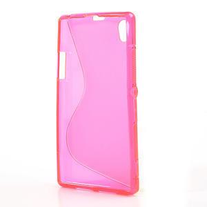 Gelové S-line pouzdro na Sony Xperia Z1 C6903 L39- růžové - 3