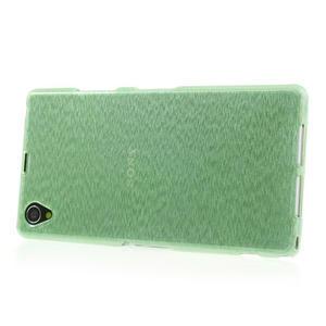 Kartáčované puzdro pre Sony Xperia Z1 C6903 L39- zelenomodré - 3