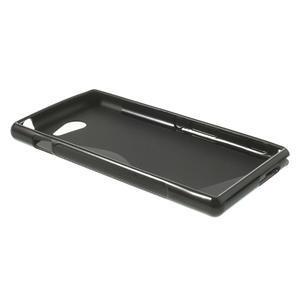 Gélové S-line puzdro na Sony Xperia M2 D2302- čierné - 3