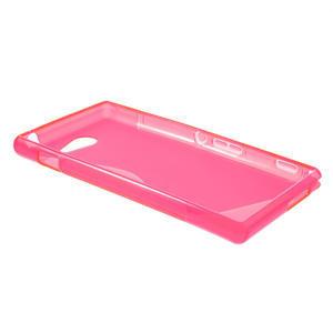 Gélové S-line puzdro na Sony Xperia M2 D2302- růžové - 3