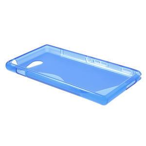 Gélové S-line puzdro na Sony Xperia M2 D2302- modré - 3
