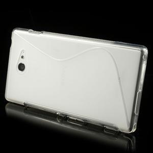 Gélové S-line puzdro pre Sony Xperia M2 D2302- transparentný - 3