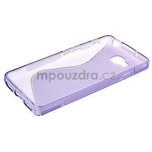 Gélové S-line  puzdro pre LG Optimus L9 II D605-fialové - 3
