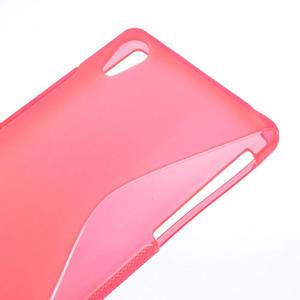 Gelové S-line pouzdro na Sony Xperia Z2 D6503- růžové - 3