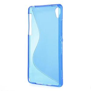 Gélové S-line puzdro pre Sony Xperia Z2 D6503- modré - 3