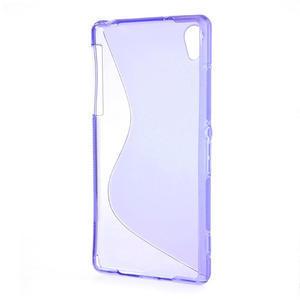 Gélové S-line puzdro pre Sony Xperia Z2 D6503- fialové - 3