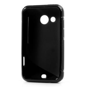 Gélové S-line puzdro pre HTC Desire 200- čierné - 3