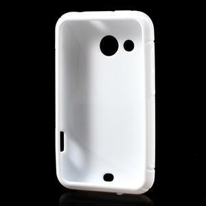 Gélové S-line puzdro pre HTC Desire 200- biele - 3