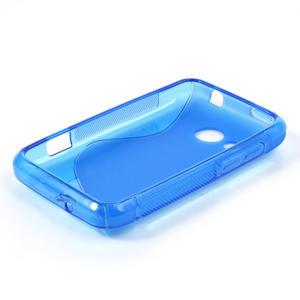 Gélové S-line puzdro pre HTC Desire 200- modré - 3