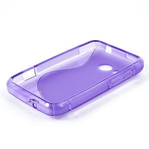 Gélové S-line puzdro pre HTC Desire 200- fialové - 3