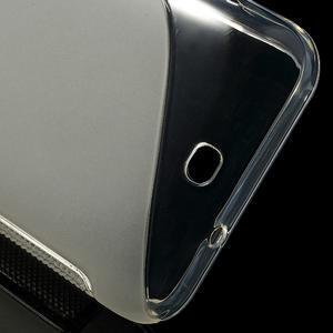 Gélové S-line puzdro pre HTC Desire 200- transparentný - 3