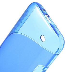 Gélové S-line puzdro pre HTC Desire 300 Zara mini-modré - 3